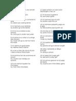 20 Oraciones en Ingles