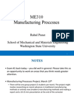 WSU ME 310 Rapid Prototyping