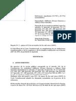 Sentencia C-1154-05