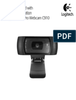 Webcam Logitech C910