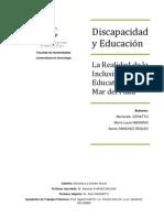 Discapacidad y educación - Ceratto, Mannino, Sánchez Reales
