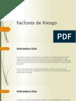 Factores de Riesgo - 2