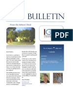 IGCS Bulletin Vol. 4 Issue 3 July 2015 Final