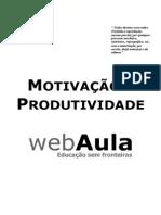 Apostila - Motivacao e Produtividade