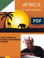 Africa Maya Angelou