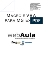 Apostila - Macro e VBA Para Ms Excel