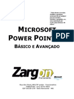 Apostila - Power Point XP Basico e Avancado