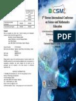 BICSME2015 Brochure