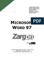 Apostila - Word 97
