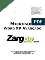 Apostila - Word XP Avancado