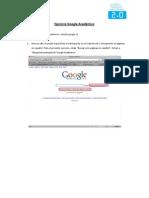 Ejercicio Google Académico