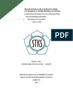 Analisis Program Keluarga Harapan (Pkh) Berdasarkan Paradigma Teori Pekerjaan Sosial