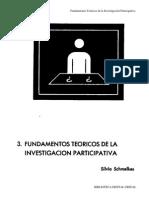 Fundamentos Teóricos de La Investigación Participativa Silvia