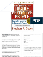 Presentation-The 7 Habits of Highly Effective People