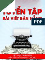 Tuyen Tap Bai Viet Ban Hang