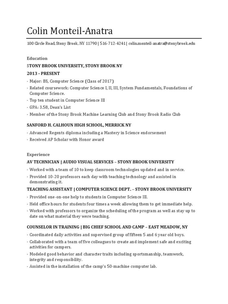 Colin Monteil-Anatra Resume | Adobe Systems | Software