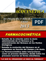 1a FARMACOCINETICA 2013
