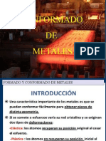 Conformado de Metales