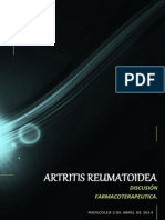 caso clinico N°2 artritis reumatoidea