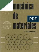 F. R. Shanley- Mecanica de Materiales