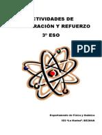 Actividades de Recuperación y Refuerzo 3º ESO FISICA Y QUIMICA