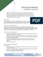 Writing Abstract