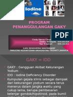 Tugas Prof. Haryo Program Penanggulangan Gaky