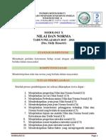Modul Sosiologi x Nilai & Norma