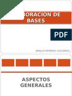 11 Elaboración Bases