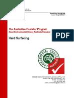 Hard Surfacing (GECA 40-2008)