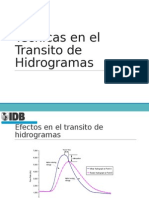 4.0 Transito de Hidrogramas