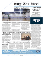 The Daily Tar Heel for Sept. 10, 2015