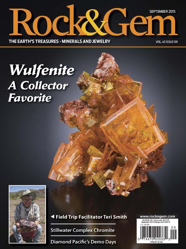 Rock and Gem September 2015 | Mineralogy | Minerals