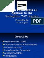 DFMA Stapler