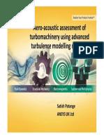 Turbomachinery Seminar - Aero-Acoustic