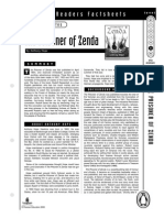 Prisoner of Zenda Factsheets