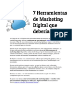 Marketing herramientas gestionar sitios