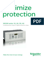 Micom P132 Brochure
