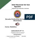 Robotica - Laboratorio 3