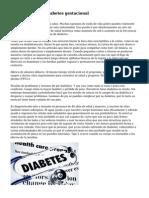 Plan de dieta de Diabetes gestacional