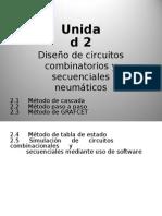 Circuitos Combinatorios y Secuenciales de Neumática