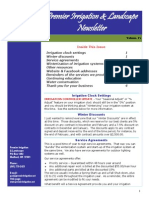 premier irrigation newsletter volume 11