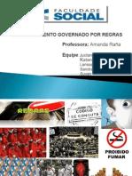 APRESENTAÇÃO TTP II - Comportamento Governado Por Regras