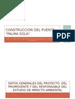 Construcción Del Puente