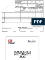01525-3 Health, And Environment Plan (HSE)
