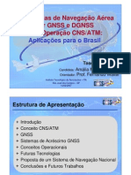 CNS ATM Navegacao GNSS Brasil