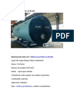 Caldera de Petróleo en Brasil
