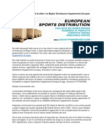 Commercio Supplementi Di Affari e La Miglior Distributore Supplemento Europea