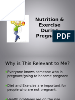 Nutrition and Exercise During Pregnancy VoiceOver Presentation