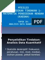 Topik 10 Analisis Data Kuantitatif.ppt